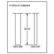 DKS DoorKing 1200-056 Architectural Post, In-Ground Adapter