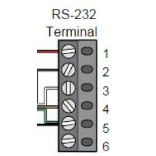 DKS DoorKing 1804-564 Terminal 6 Pin 3.5mm Type 166