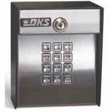DKS Doorking 1815-051 Lighted Weigand Keypad, Surface Mount