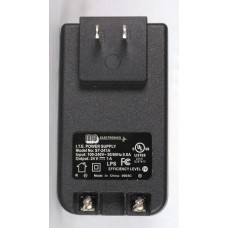 MG Electronics 24VDC 1AMP Plug In Power Supply (ST241A)