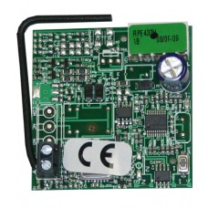 FAAC USA RCVR 433Mhz, Plug-in Type, RP2 433 RC, Rolling Code