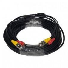 CB-BNC-06-BK 60ft BNC/DC Premade Cable