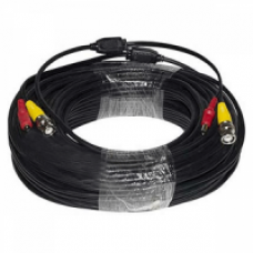 CB-BNC-10-BK Premade Premium 100 ft Power and Video Cable