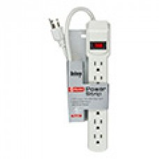 TR-POWER-STRIP POWER 6 OUTLET / 1.5ft cord Power Strip / UL Listed