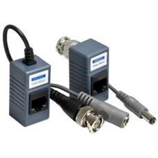 Cat5 Plug Video Balun with Connectors, AP-VBS-31P