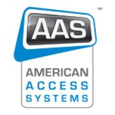 AAS 25-213 ProAccess 200 SA Post Mount Enclosure SecuraKey