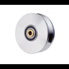 6-inch V-Groove Chrome Power Wheel