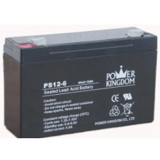 BT-PS06V0120T2 6V 12Ah Battery Replacement