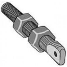 Standard Steel Chain Bolt 1/2-inch