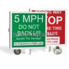 DKS DoorKing 1615-032 Replacement Sign ( Red Only )