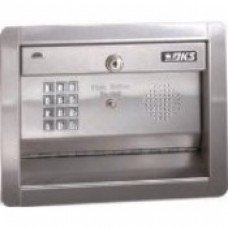 DKS DoorKing 1504-091 Basic Digital Keypad, Flush Mount with Intercom