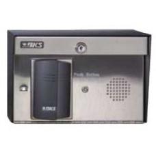 DKS DoorKing 1504-123 HID Card Reader, Surface Mount with Intercom
