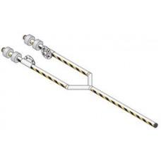 DKS DoorKing 1602-166 27' 3 Piece Aluminum Arm Assembly