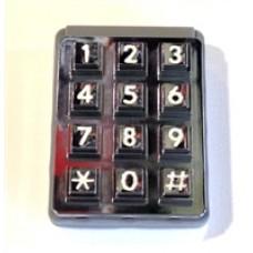 DKS DoorKing 1895-021 Blue Lighted Keypad RA Header