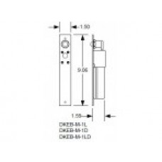 DKS Doorking 2600-091 Shim 1 1/8-in OD x 5/8-in ID x 1/32-in thk