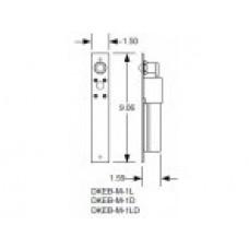 DKS Doorking 2600-092 Shim 1 1/8-in OD x 5/8-in ID x 1/64-in thk