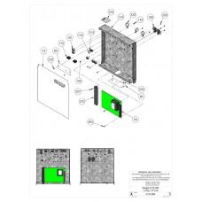 DKS DoorKing 2600-388 Gearbox, 10:1