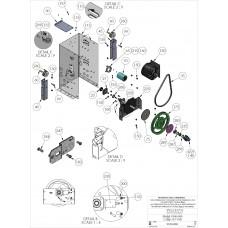 DKS Doorking 2600-731 Gasket Switch Cover