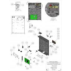 DKS Doorking 2600-826 12-Pin Terminal Strip