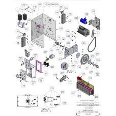 DKS Doorking 2600-829 Spring, Taper Compression