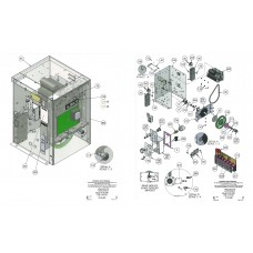 DKS DoorKing 2600-847 Resistor Power