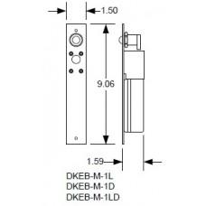 DKS DoorKing DKEB-M-1LD Fail-Safe Dead-Bolt