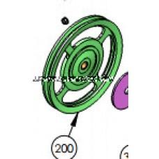 DKS DoorKing 2600-957 Pulley 10 Inch