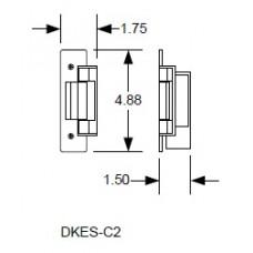 "DKS DoorKing DKES-C2-1FS Electric Strike 20/32"""