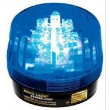 Seco-Larm SL-126Q/B A 12VDC strobe light , (Blue)