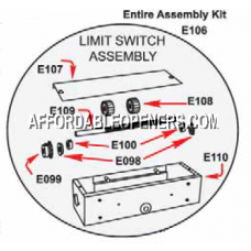 Eagle E106A Limit Switch Assembly (Complete)