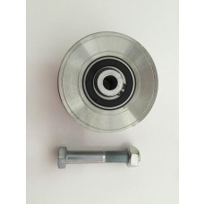 4-inch  V-Groove Chrome Power Wheel