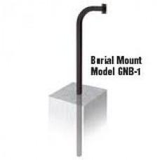 Linear GNB-1 Burial Mount Gooseneck Pedestal