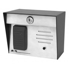 AAS 23-006i HID-Post Mount w/intercom 1 - 3 inch read range