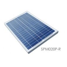 FUH Industrial SPM020P-R 20 Watt, 12 Volt Solar Panel