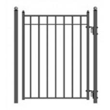 Madrid Style Steel Pedestrian Gate 5'