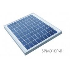 FUH Industrial SPM010P-R 10 Watt, 12 Volt Solar Panel