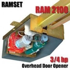Ramset ram-2100 -UL Gate Operator 3/4 Hp Overhead Gate Operator
