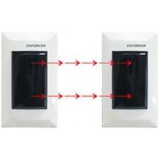 Seco-Larm E-932-D33TBQ Enforcer Dual Beam Sensor, Flush-Mount Indoor