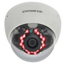 Seco-Larm EV-2166-NVWQ Md-Size Vandal IR Dome Cam. 4~9mm Lens 21IR LED