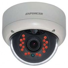 Seco-Larm EV-2186-NKEQ Large Vandal IR Dome Cam. 2.8~11mm 18IR LED