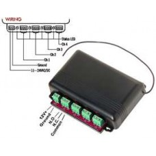 Seco-Larm SK-910R4Q Enforcer RF Receiver, 4-Channel