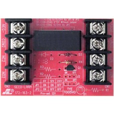 Seco-Larm SR-2212-C5AQ Heavy-duty relay board. 12/24VDC 5A@250VAC DPDT