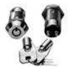Seco-Larm SS-095-1H6 SPST HighSec Tubular Key Lock momentary key# 1306
