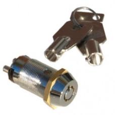 Seco-Larm SS-095-1H8 SPST High-Sec Tubular Key Lock momentary key#1308