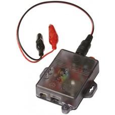 Seco-Larm ST-BT03Q Multi-Purpose Battery Tester 12 or 24V