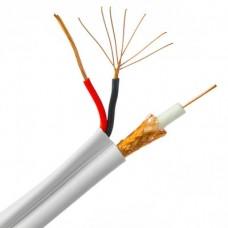 Genesis Siamese Coax Cable RG59 18/ 2 STR 1000 FEET