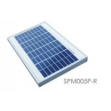 FUH Industrial SPM005P-R 5 Watt, 12 Volt Solar Panel
